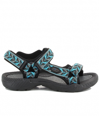 Damen Outdoor Sandalen Splash türkis