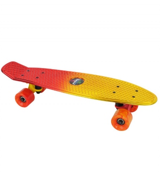 Tempish BUFFY STAR Skateboard Gold/Rot
