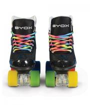 kinder rollschuhe roller skates rainbow verstellbar. Black Bedroom Furniture Sets. Home Design Ideas